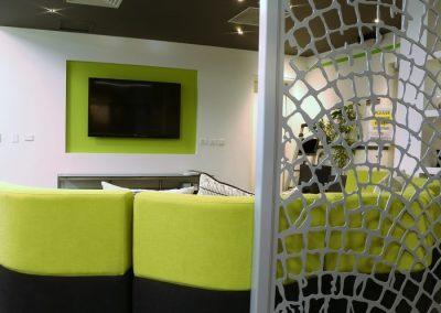 Informal meeting lounge area