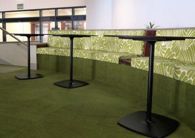 The Avenue Atrium booth seating