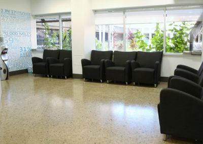 Nautilus Orthopaedics_Waiting Area and courtyard