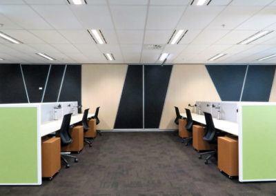 Commercial Office Fitout_Open Plan Workstations
