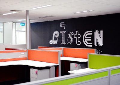 Imparja Office Writable Wall