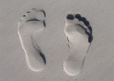 Be Inspired - Footprints