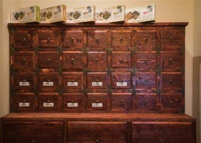 Chinese Herb Storage