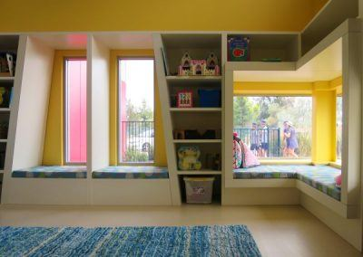 Braitling Preschool window seats