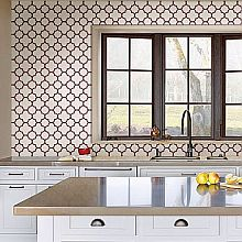 Kitchen Wallpaper Geometric