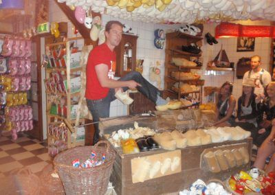 Clog Making in Holland