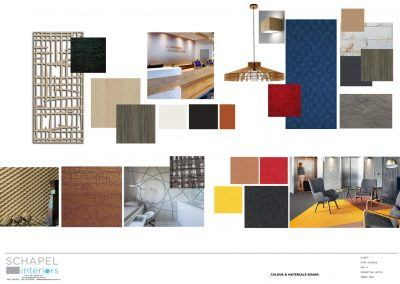 Project Colour & Materials board